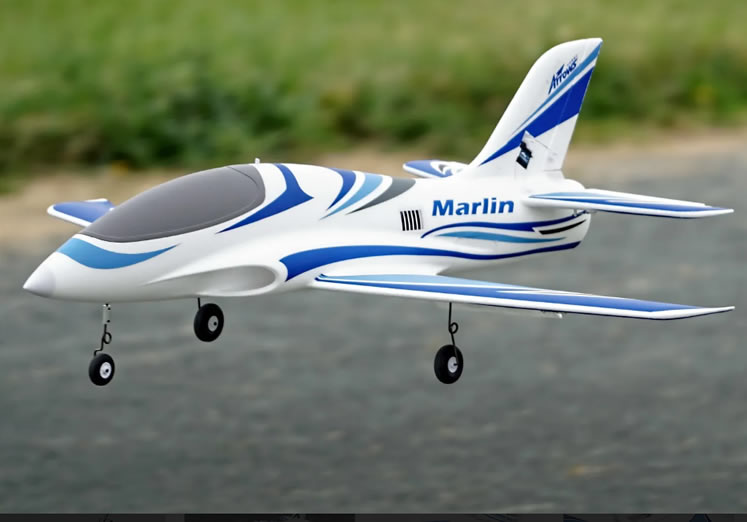 Arrows Hobby Marlin 64mm EDF PNP  RC Airplane