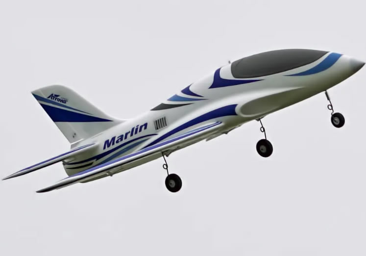 Arrows Hobby Marlin 64mm EDF PNP  RC Airplane